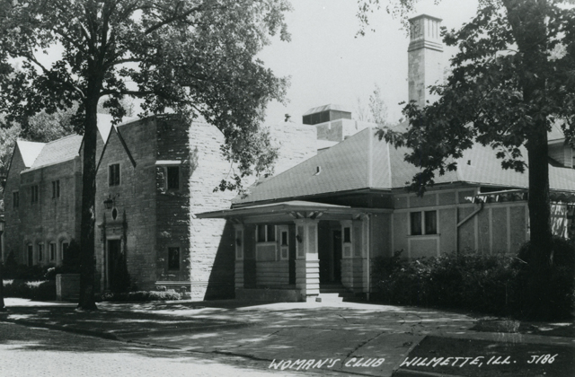 Wilmette Woman's Club building, 1930s